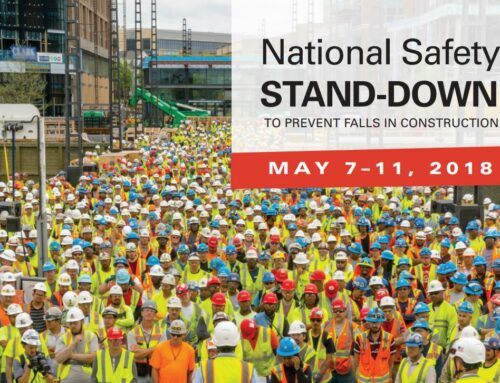 National Safety Stand-Down Week: May 7-11